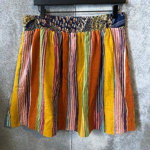 Anthropologie Skirts - Edme & Esyllte Amhara Multicolor Stripe Boho Skirt